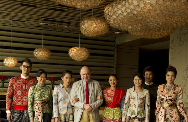 Christian Lacroix at Sofitel Bangkok, March 28, 2012