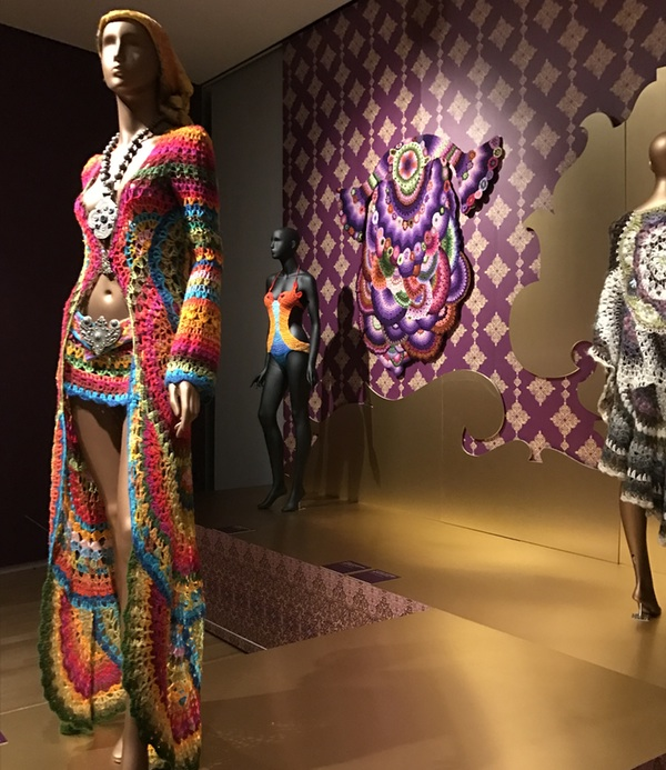 Hippie haute couture celebrated at nyc gallery showing for American haute couture designers