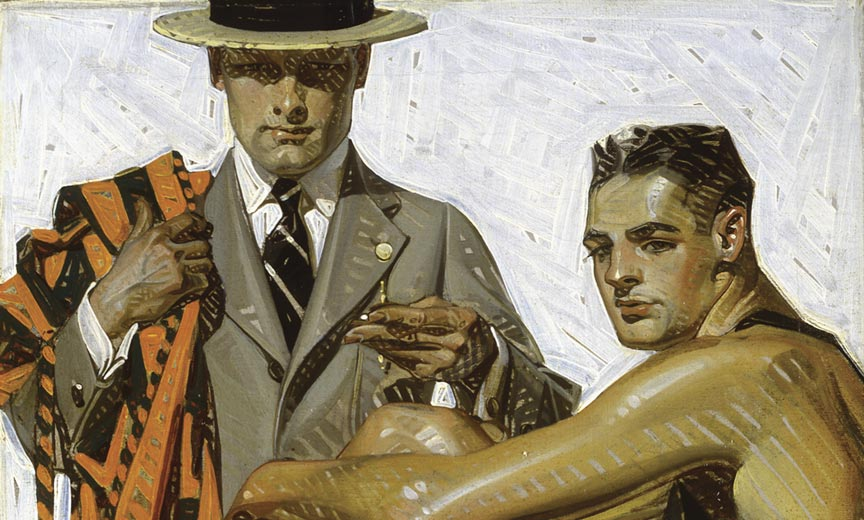 J C Leyendecker The Greatest Gay Artist You Don T Know