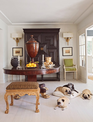 doggies and antiques