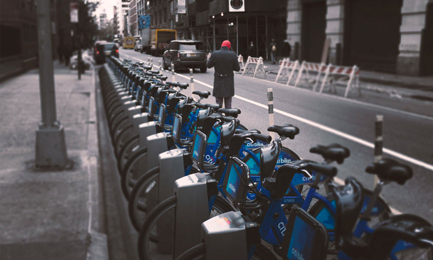 citibikes late fall