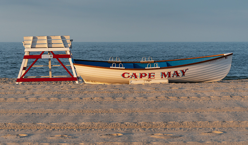 "boat named ""cape may"""