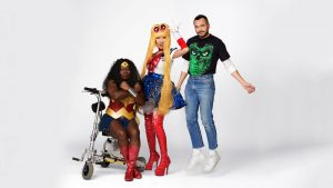 cosplay trio