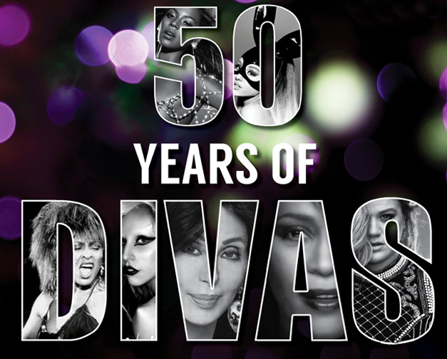 50 years of divas
