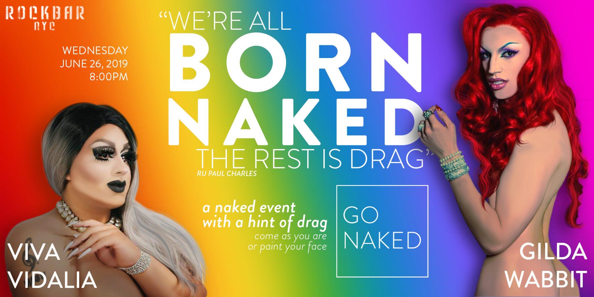 born naked poster