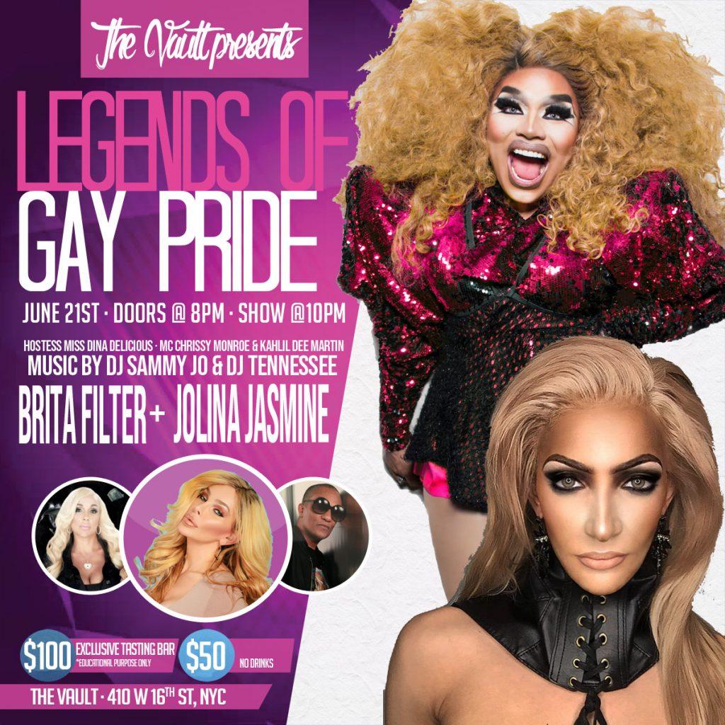 legends of pride drag poster
