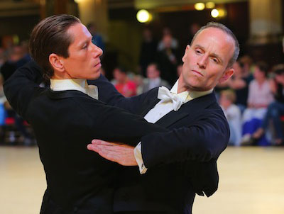 male ballroom dancers