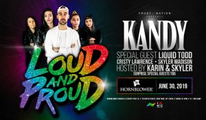 kandy poster for out and proud 2019