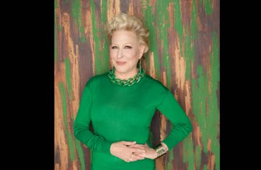 bette midler in green