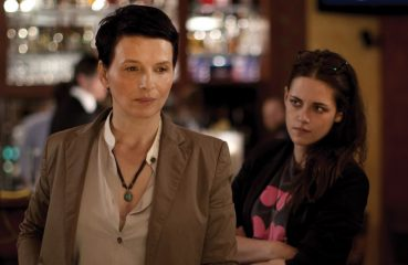 Juliette Binoche and Kristen Stewart