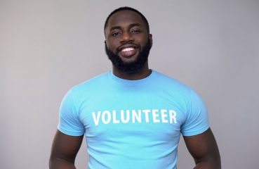 Smiling Volunteer