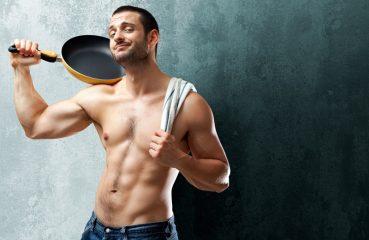Sexy Shirtless Chef