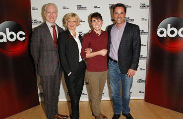 Tim Gunn, Martha Plimpton, Noah Galvin, and David Windsor