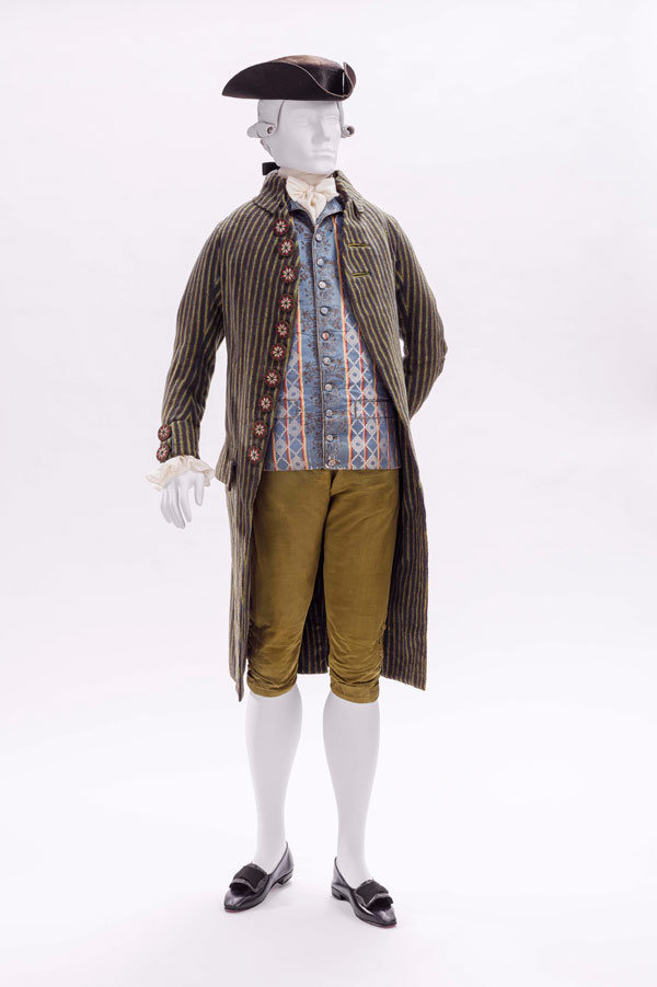 Coat, Vest, and Breeches