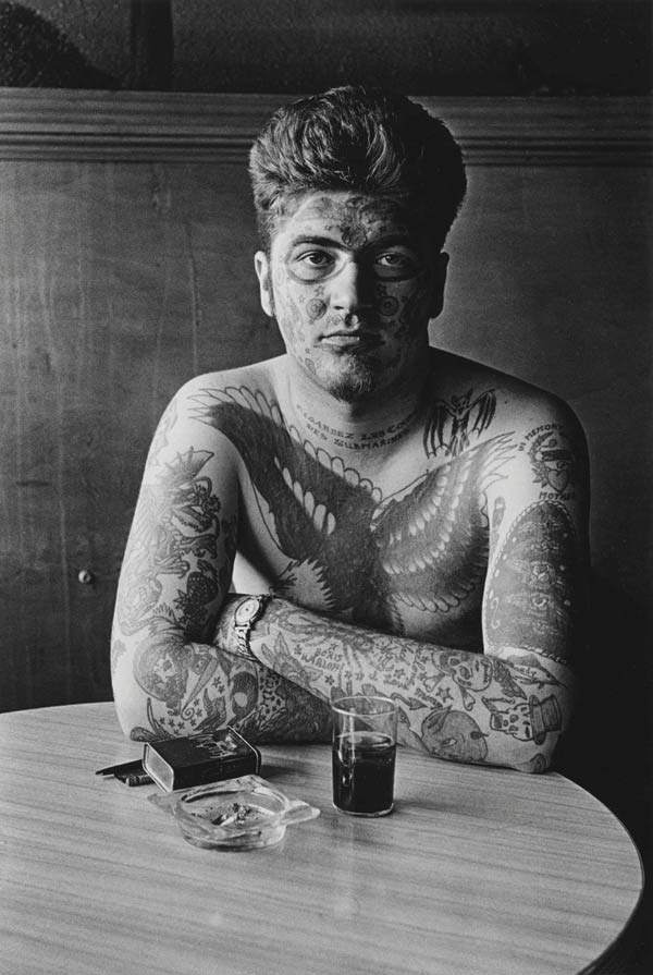 Jack Dracula at a bar, New London, Conn. 1961