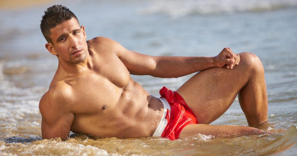 sexy beach boy