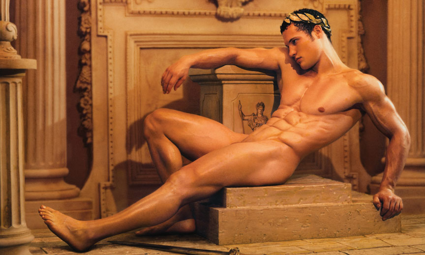 Reclining naked Roman