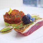 Hawaiian Style Seared Tuna