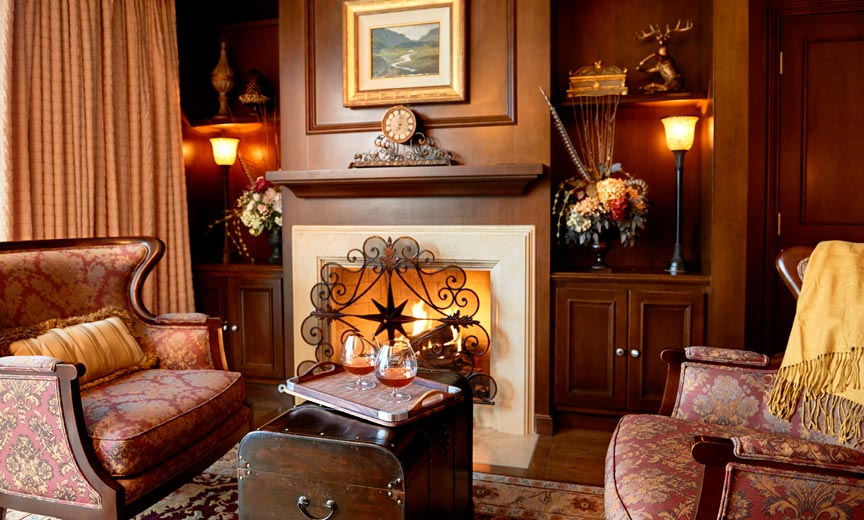 Capitol Suite Fireplace