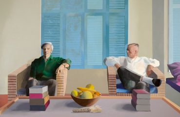 Christopher Isherwood and Don Bachardy