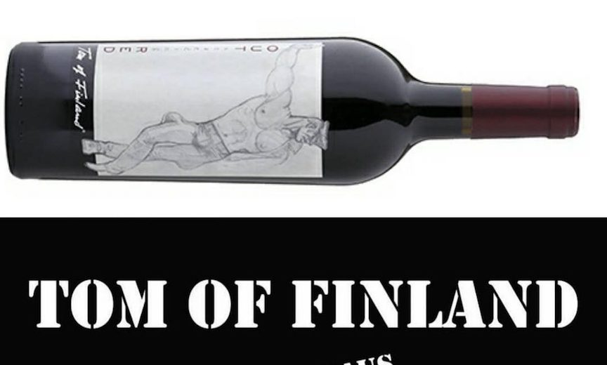 Tom of Finland brand wine