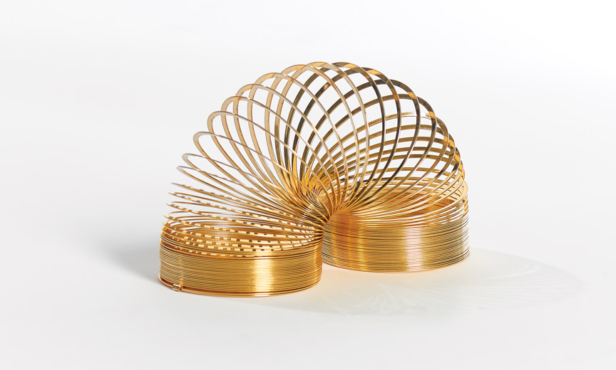 Classic Gold Slinky