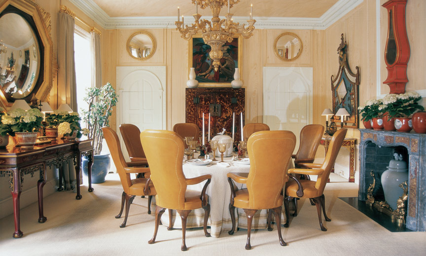 Tom Britt dining room