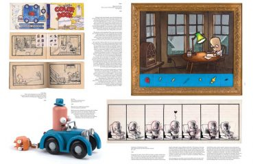 Chris Ware book spread