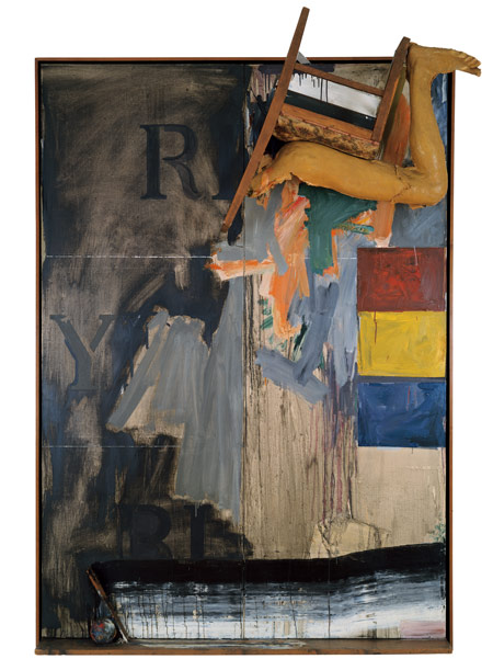 Watchman by Jasper Johns
