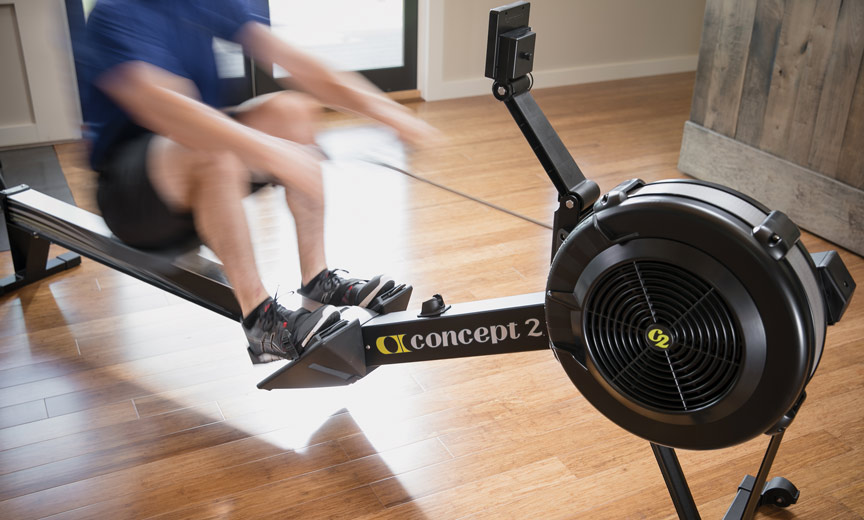 Concept2 indoor rower
