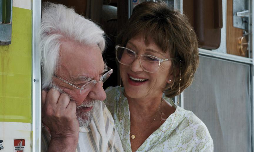 Sutherland and Mirren