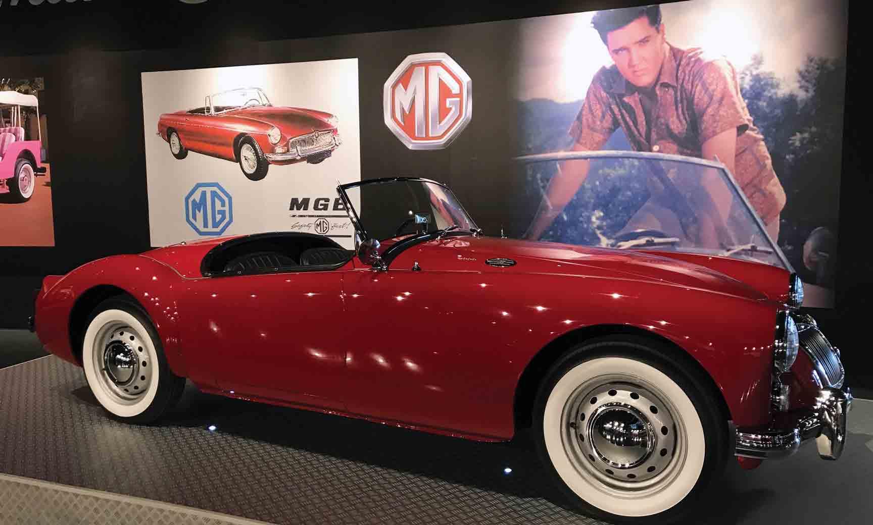 Elvis Presley's Cars at Presley Motors in Graceland ...