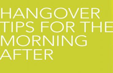 hangover tips