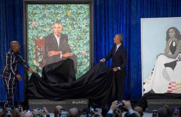 Obama Portrait unveiling
