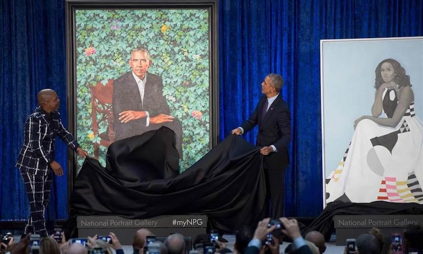 Obama Portrait unveiling