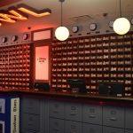 bowling shoe desk
