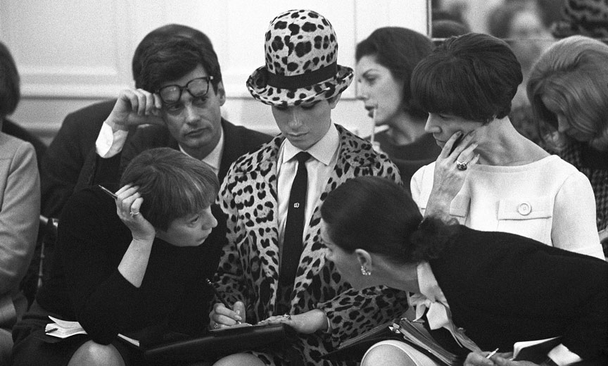 Babs signing autographs c.1960s