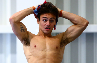 British Diver Tom Daley