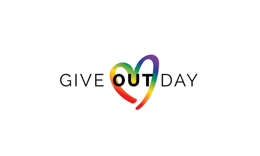 give out day logo