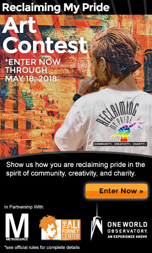 reclaiming my pride promotion