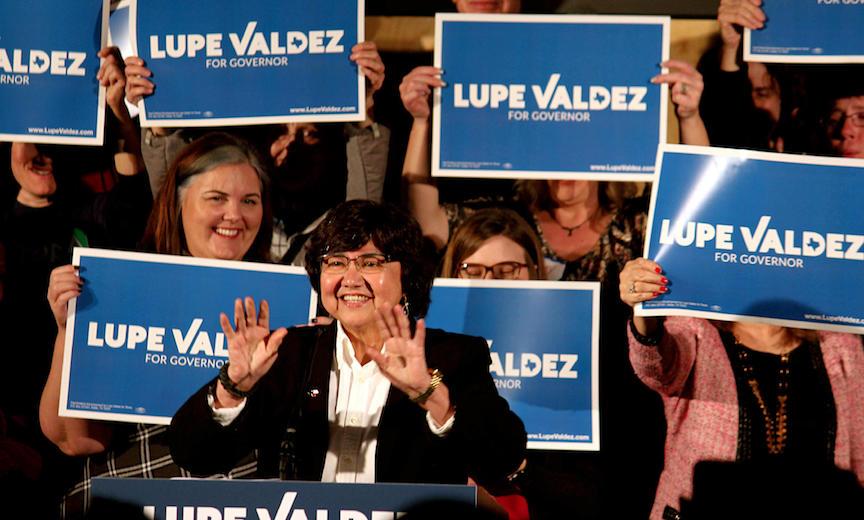 Texas gubernatorial candidate Lupe Valdez