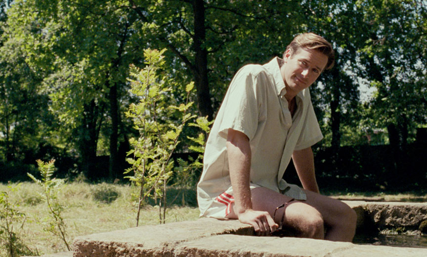 scene from Call Me by Your Name