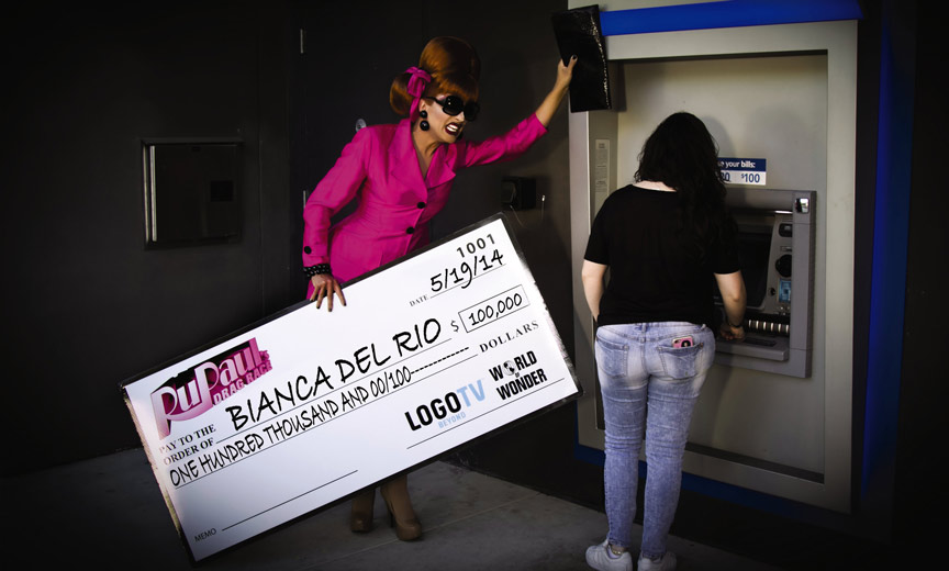 bianca del rio waits for atm