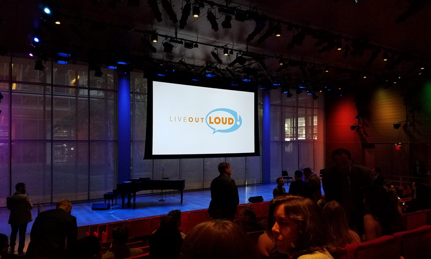 live out loud event
