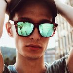 young man in sunglasses