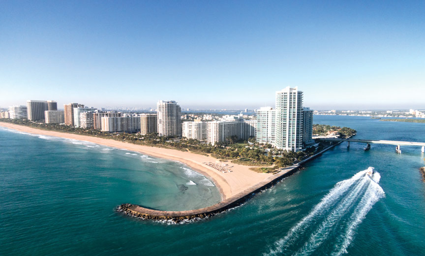 Ritz-Carlton Bal Harbour and Haulover Cut
