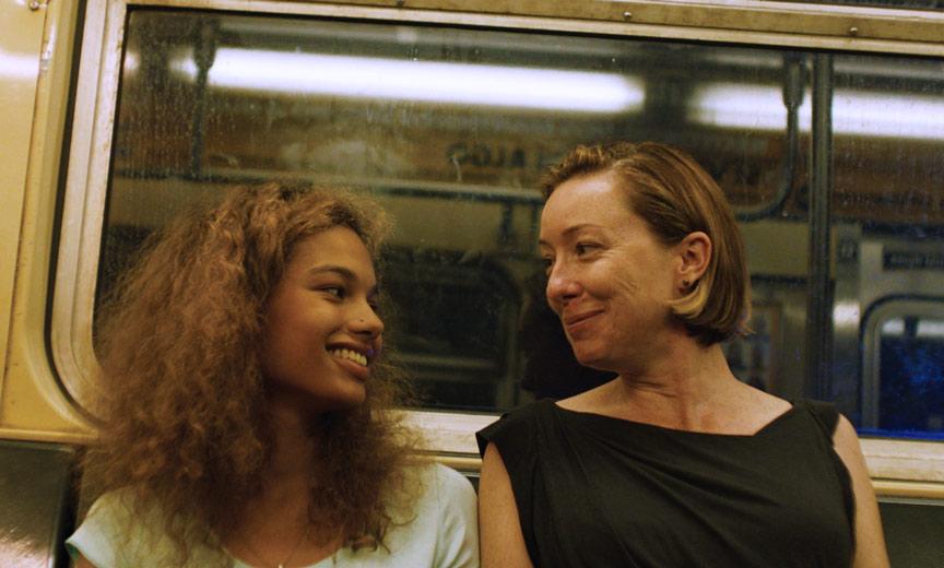 Madeline's Madeline subway scene