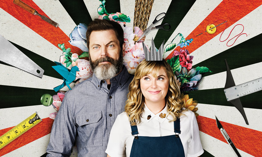 Offerman and Poehler - Making it poster
