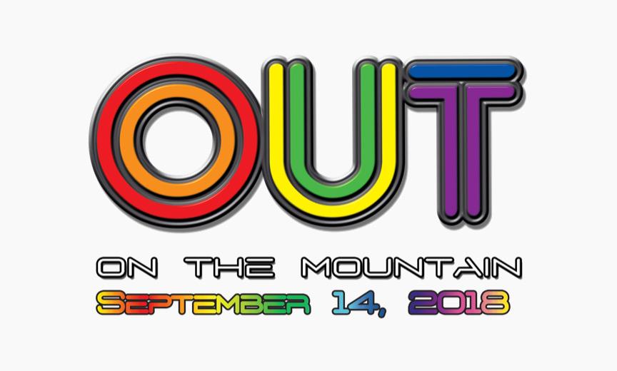 aja out on the mountain logo