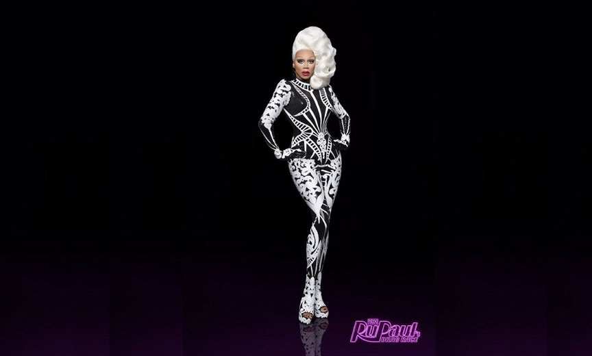 rupaul with white hair
